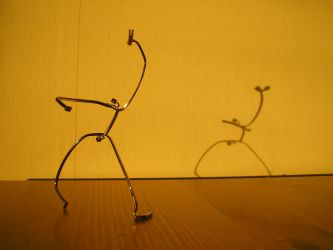 Eyeglass Frame Sculpture 6 by Maluviam