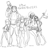 31d: Ghostbusters of Fairfield, Rough! by KriegsaffeNo9