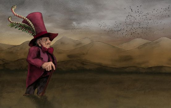 The Land Baron by awolfillustrations