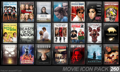 Movie Icon Pack 260 by FirstLine1