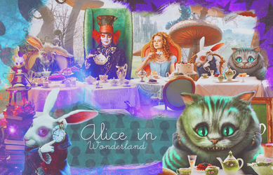 alice in wonderland by utoshii