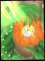 Cagney Carnation (FLORAL FURY_CUPHEAD) by AnimalBook96