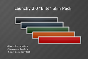 Launchy Elite Skin Pack by clarson04