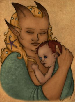 Mother in Cha by EmiliAlys