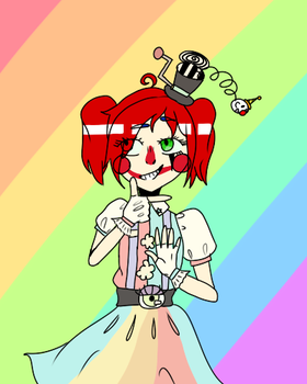 Star Of The Show Circus Baby by GingerBearTheMelon