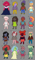 Colour Palette Adopts 3: 11/16 open! by Ask-Penelope-Rouge