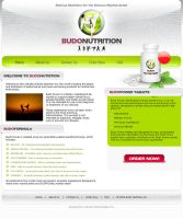 Budo Nutrition Website by zaib