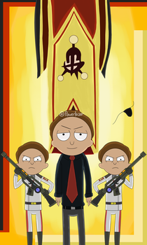 Evil Morty Returns by Powerlazer