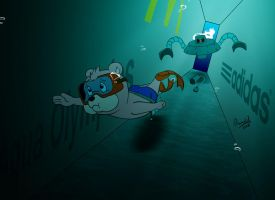Aqua Olympics - the pace robot by Rumold
