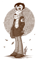 TF2 - Autumn Medic - by BloodyArchimedes