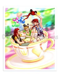 ARR - Three Guys, One Cup. by Nijuuni