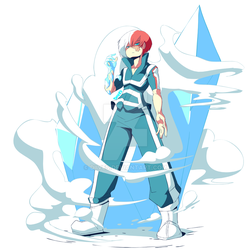 Todoroki Shouto by Diives