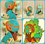 Nix the Akriri/Birdfolk Lifesize Plush by The-Plushatiers