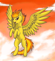 MLP: Spitfire by Marshcold