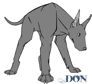 Don the Great Dane by KaiStray