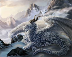 Ice Dragon by Sidonie