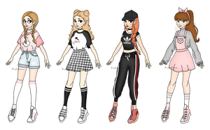 Human Adopts -SET PRICE- (3/4 OPEN) by PecheAmere