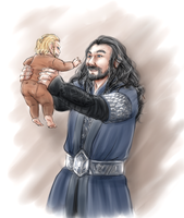 Uncle Thorin by FlorideCuts