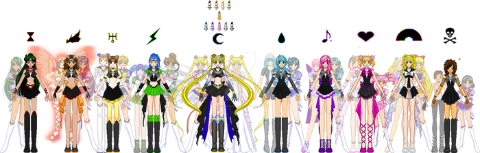 Contest Entry- The Soul Sailor Senshi by PlatinumLove