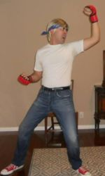 Axel Stone STREETS OF RAGE 2 cosplay by IronCobraAM