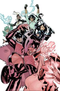 X-Men 22 Cover by TerryDodson