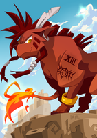 RED XIII by Tale-Dude
