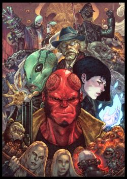 The Hellboy by BryanValenza