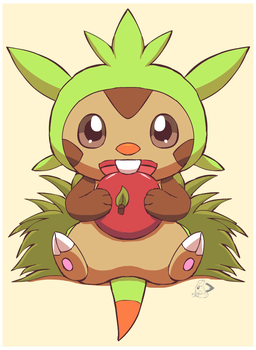Chespin by pichu90
