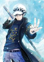 Trafalgar Law by Aerinn-I