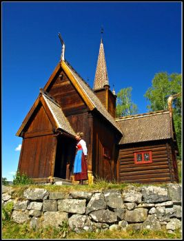 Norway - Stave Church by AgiVega