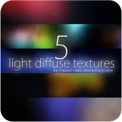 5x Light diffuse textures by frozen-roos