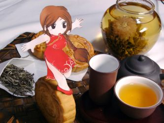 Paper Child Chinese Teatime by ryu-yo