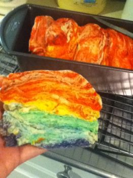 Rainbow Bread! by dreamerXD