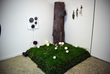 Finished Forest Art Installation by AngusWW