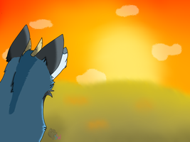 ~Sunset~ [Speedpaint] (Updated) by NamelessCoyote