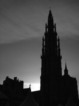 Antwerp - cathedral by TeoB
