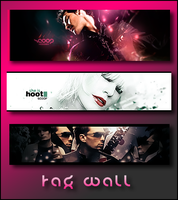 Tag wall by MyHouse