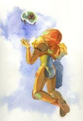 Lil' Metroid by Jackin