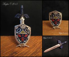 Miniature Sword and Shield by Maylar