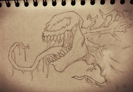 Venom sketch by Maghero