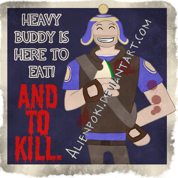 TF2 Spray - Heavy Buddy by alienpoki