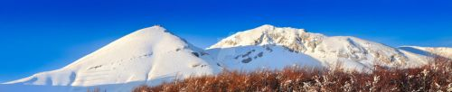 Panoramic with sky blue by passionefoto
