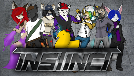 INSTINCT Fighters 2-9 by tealfoxy