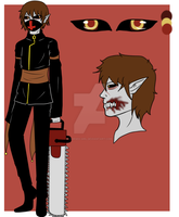 DreamScape Oc Ref: Zachary Noir by Cursed-Girl