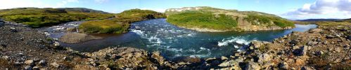 Panorama 28: Two Rivers by ragnaice