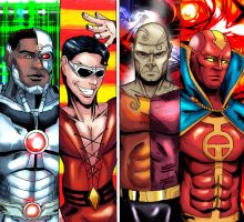 Justice League Group 5 by cpuhuman
