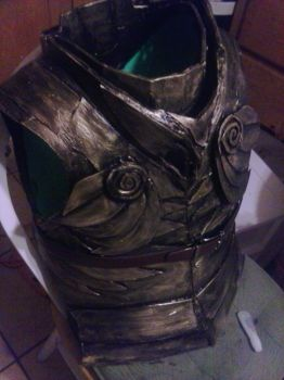Skyrim Cosplay - Elven Chestplate by 0fade