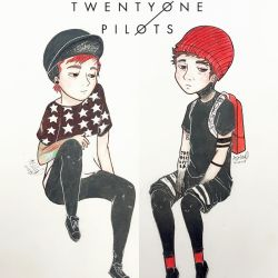 Twenty One Pilots by cascadeofstars