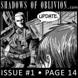 Shadows of Oblivion #1 p14 update by Shono