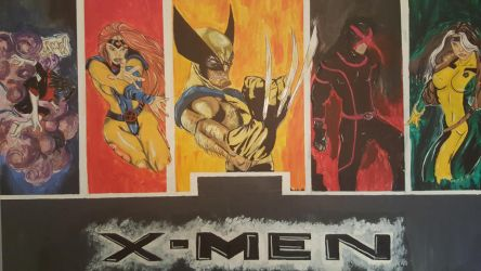 X-men  by CamArtGallery